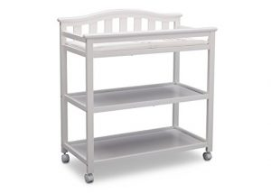 Delta Children Bell Top Changing Table with Casters