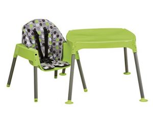 Evenflo Convertible chair and table