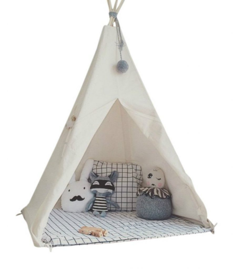The Little Dove Kidu0027s Foldable Teepee Play Tent is one of the best teepee tent made from durable 100% cotton canvas that is soft breathable and AZO free.  sc 1 st  Mommy Tea Room & Top 8 Best Kids Teepee of 2018 - Mommy Tea Room