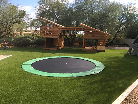 In-Ground Trampolines Stainless Steel Upgrade