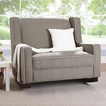 baby relax hadley taupe rocker
