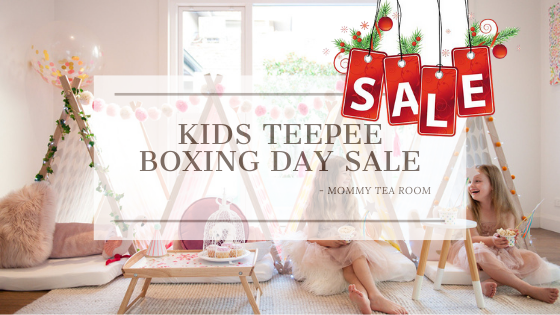 Kids Teepee Boxing Day Sales